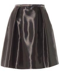 Honor Liquid-Satin Full Skirt black - Lyst