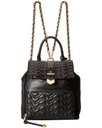Badgley Mischka Scarlett Nappa Shoulder Backpack - Lyst