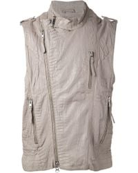 Tuesday Night Band Practice Textured Vest - Lyst