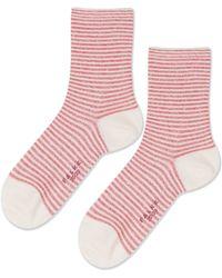 Topshop | Falke Even Stripe Ankle Socks | Lyst