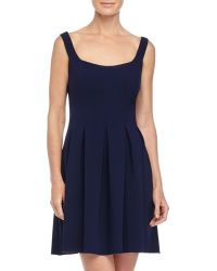 Jill Jill Stuart Scoop-Neck Fit-And-Flare Dress - Lyst