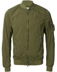 C P Company Stretch Nylon Zipped Jacket - Lyst