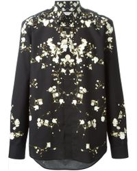 Givenchy Gypsophila Print Shirt - Lyst