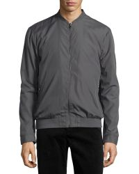 Emanuel Ungaro Urban Tech Zip-Front Jacket - Lyst