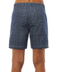 Steven Alan | Floralprint Denim Shorts | Lyst
