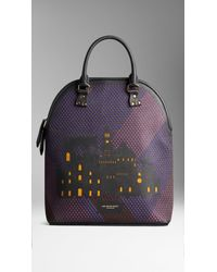 Burberry The Bloomsbury with Milan City Motif - Lyst