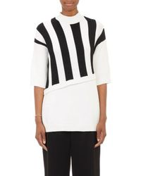 3.1 Phillip Lim Stripe Layered-Look Sweater - Lyst