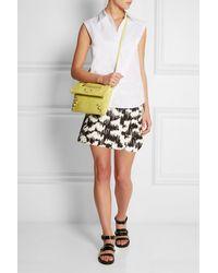 Balenciaga Textured-Leather Shoulder Bag - Lyst