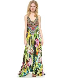 Camilla Garden Of Eden Cover Up Dress - Lyst