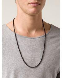 Joseph Brooks - Beaded Onyx Necklace - Lyst