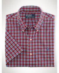 Polo Ralph Lauren Slim-fit Poplin Sport Shirt - Lyst