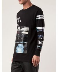 Hood By Air Layered Graphics Tshirt - Lyst
