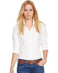 Polo Ralph Lauren Custom-Fit Oxford Shirt - Lyst