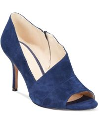 Nine West Blue Glara Shooties - Lyst