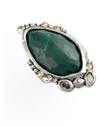 Alexis Bittar 'Elements' Stone Saddle Ring - Lyst