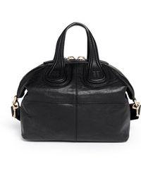 Givenchy 'Nightingale Zanzi' Small Leather Bag - Lyst