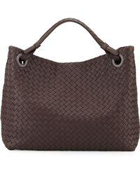 Bottega Veneta Intrecciato Medium Shoulder Bag - Lyst