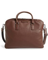 Marc By Marc Jacobs 'Classic' Leather Briefcase - Lyst