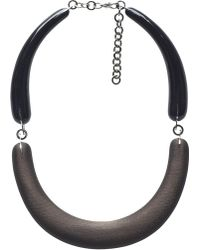 Marni Brown and Black Legno Wood Necklace - Lyst