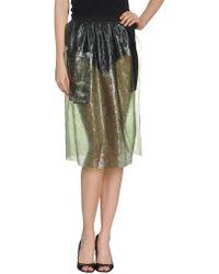 Clover Canyon 3/4 Length Skirt - Lyst