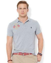 Polo Ralph Lauren Custom Fit Usa Polo - Lyst