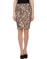 Blugirl Blumarine Knee Length Skirt - Lyst