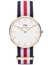 Daniel Wellington Classic Canterbury Watch, 36Mm multicolor - Lyst