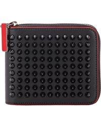 Christian Louboutin Panettone Zip-Around Wallet multicolor - Lyst