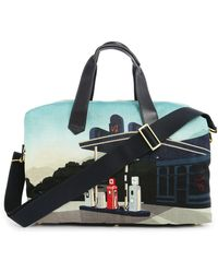 Paul Smith Printed Duffle Bag - Lyst