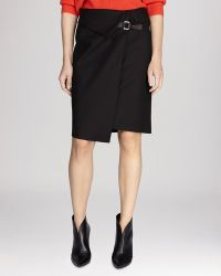 Karen Millen Skirt - Buckled Wrap - Lyst