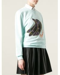 Carven | Embroidered Banana Sweatshirt | Lyst