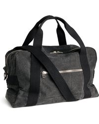 H&M Weekend Bag black - Lyst