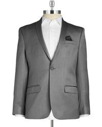 William Rast - Textured Singe-button Blazer - Lyst