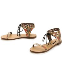 Twelfth Street Cynthia Vincent - Paige Flat Sandals - Lyst
