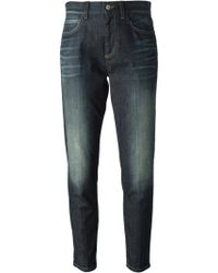 Gucci Blue Boyfriend Jeans - Lyst