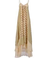 Twin-set Simona Barbieri Long Dress - Lyst
