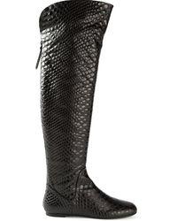 Giuseppe Zanotti Embossed Boots - Lyst