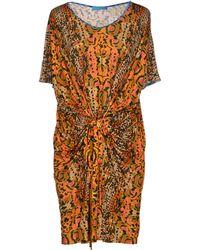 Matthew Williamson Escape Short Dress - Lyst