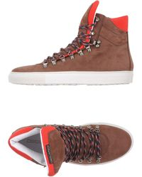DSquared²   brown High-tops & Trainers   Lyst