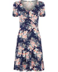Oasis Parasol Print Tea Dress - Lyst