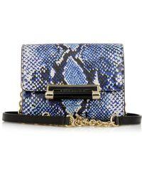 Diane Von Furstenberg 440 Heritage-print Mini Shoulder Bag - Lyst