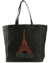 KENZO - 'Eiffel Tower' Tote - Lyst