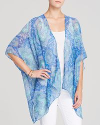 Moon & Meadow - Jony Printed Kimono - Lyst