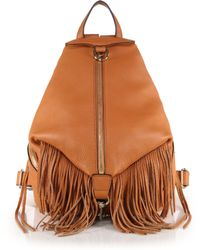 Rebecca Minkoff Julian Fringed Backpack - Lyst