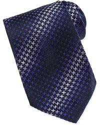 Missoni Geometric Ombre Silk Tie - Lyst