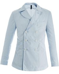 Rake - Double-breasted Pack Away Coat - Lyst