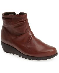 Munro 'Riley' Ankle Boot - Lyst