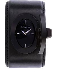 Coach Turnlock Cuff Pr Watch - Lyst