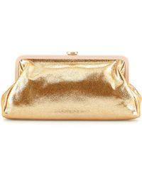 SJP by Sarah Jessica Parker - Beekman Metallic Clutch Bag - Lyst