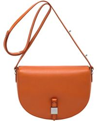 Mulberry Orange Tessie Satchel - Lyst